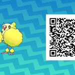 082 Pokemon Sun and Moon Pom Pom Oricorio QR Code