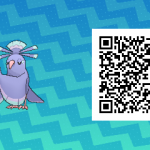 082 Pokemon Sun and Moon Sensu Oricorio QR Code