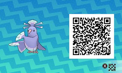 082 Pokemon Sun and Moon Sensu Oricorio QR Code