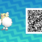 082 Pokemon Sun and Moon Shiny Pom Pom Oricorio QR Code