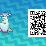 082 Pokemon Sun and Moon Shiny Sensu Oricorio QR Code
