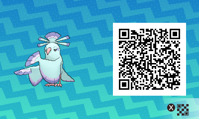 082 Pokemon Sun and Moon Shiny Sensu Oricorio QR Code