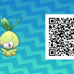 085 Pokemon Sun and Moon Petilil QR Code
