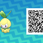 085 Pokemon Sun and Moon Shiny Petilil QR Code