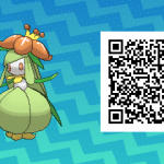 086 Pokemon Sun and Moon Lilligant QR Code