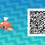 091 Pokemon Sun and Moon Female Magikarp QR Code