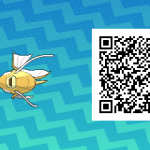 091 Pokemon Sun and Moon Shiny Female Magikarp QR Code