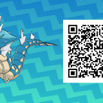 092 Pokemon Sun and Moon Female Gyarados QR Code