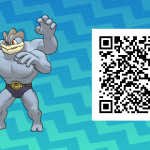 097 Pokemon Sun and Moon Machamp QR Code