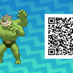 097 Pokemon Sun and Moon Shiny Machamp QR Code