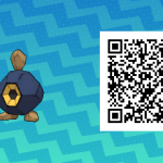 098 Pokemon Sun and Moon Roggenrola QR Code