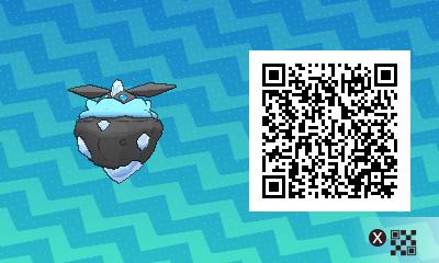 101 Pokemon Sun and Moon Shiny Carbink QR Code