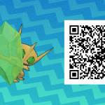 102 Pokemon Sun and Moon Shiny Mega Sableye QR Code