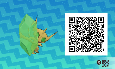 102 Pokemon Sun and Moon Shiny Mega Sableye QR Code