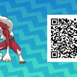 104 Pokemon Sun and Moon Midnight Lycanroc QR Code