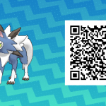 104 Pokemon Sun and Moon Shiny Midday Lycanroc QR Code