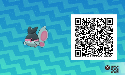 108 Pokemon Sun and Moon Finneon QR Code