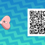 111 Pokemon Sun and Moon Luvdisc QR Code