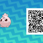 134 Pokemon Sun and Moon Igglybuff QR Code