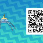 139 Pokemon Sun and Moon Surskit QR Code
