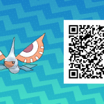 140 Pokemon Sun and Moon Masquerain QR Code