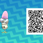 145 Pokemon Sun and Moon Morelull QR Code