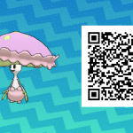 146 Pokemon Sun and Moon Shiinotic QR Code