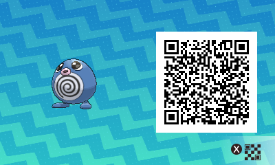 149 Pokemon Sun and Moon Poliwag QR Code