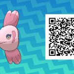 157 Pokemon Sun and Moon Alomomola QR Code
