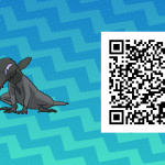 161 Pokemon Sun and Moon Salandit QR Code