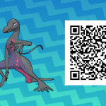 162 Pokemon Sun and Moon Salazzle QR Code