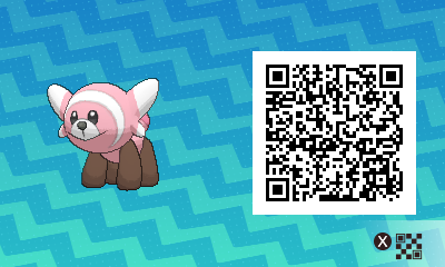 169 Pokemon Sun and Moon Stufful QR Code