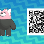 170 Pokemon Sun and Moon Bewear QR Code