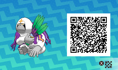 176 Pokemon Sun and Moon Orangur QR Code