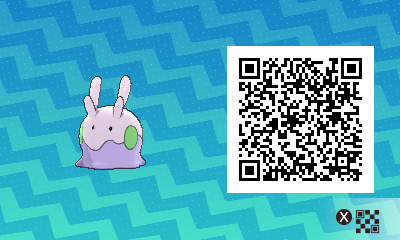 178 Pokemon Sun and Moon Goomy QR Code
