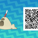 186 Pokemon Sun and Moon Sandygast QR Code