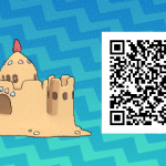 187 Pokemon Sun and Moon Palossand QR Code