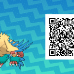 193 Pokemon Sun and Moon Archeops QR Code