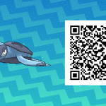 194 Pokemon Sun and Moon Tirtouga QR Code
