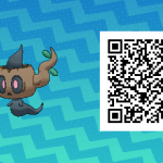 196 Pokemon Sun and Moon Phantump QR Code