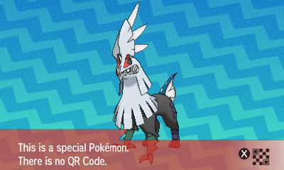 204 Pokemon Sun and Moon Silvally QR Code