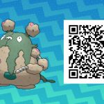 207 Pokemon Sun and Moon Garbodor QR Code