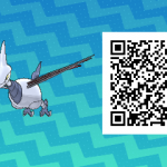 208 Pokemon Sun and Moon Skarmory QR Code