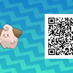 210 Pokemon Sun and Moon Cleffa QR Code
