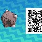213 Pokemon Sun and Moon Minior QR Code