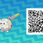 225 Pokemon Sun and Moon Togedemaru QR Code