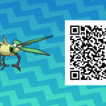 236 Pokemon Sun and Moon Vibrava QR Code