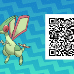 237 Pokemon Sun and Moon Flygon QR Code
