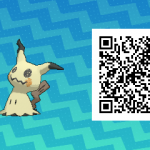 242 Pokemon Sun and Moon Mimikyu QR Code
