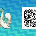 244 Pokemon Sun and Moon Drampa QR Code